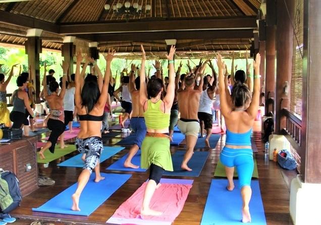 Yoga class Canggu